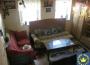 Interiér chalupy po čiastočnej rekonštrukcii v obci Brehy